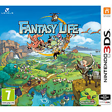 Buy Fantasy Life, Nintendo 3DS Online at johnlewis.com