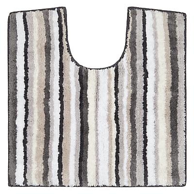 John Lewis Reversible Stripe Pedestal Mat