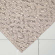 Buy John Lewis Nazca Bath Mat, Grey Online at johnlewis.com