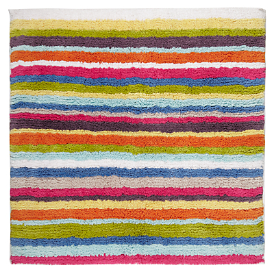 John Lewis Reversible Stripe Shower Mat