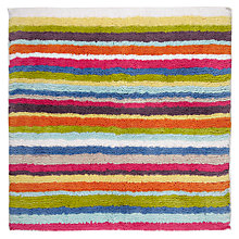 Buy John Lewis Reversible Stripe Shower Mat, Small Online at johnlewis.com