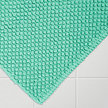 Buy House by John Lewis Bobble Bath Mat, Mint Online at johnlewis.com