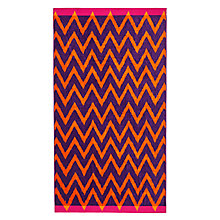 Buy John Lewis Fusion Chevron Beach Towel Online at johnlewis.com