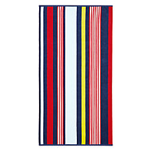 Buy John Lewis Block Stripe Beach Towel Online at johnlewis.com