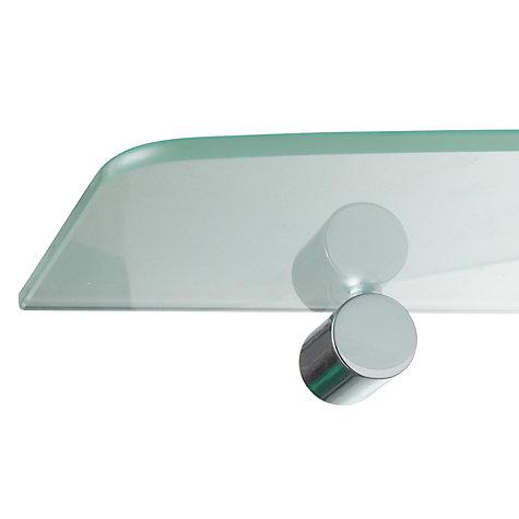 Buy John Lewis Chrome And Glass Bathroom Shelf John Lewis