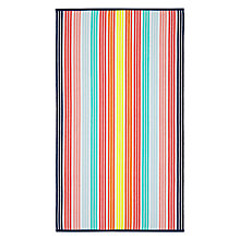 Buy John Lewis Stripe Beach Towel Online at johnlewis.com