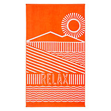 Buy House by John Lewis Relax Beach Towel Online at johnlewis.com