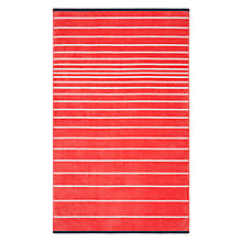 Buy John Lewis Basic Stripe Beach Towel Online at johnlewis.com