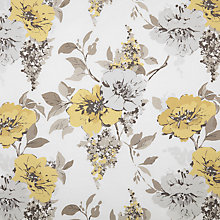 Buy John Lewis Audley Curtain, Yellow Online at johnlewis.com