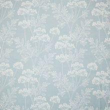 Buy John Lewis Cow Parsley Curtain, Duck Egg Online at johnlewis.com