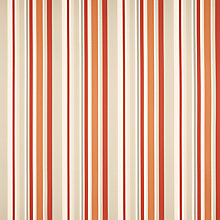 Buy John Lewis Kaplan Stripe Curtain, Russet Online at johnlewis.com