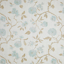 Buy John Lewis Linen Rose Curtain, Eau de Nil Online at johnlewis.com