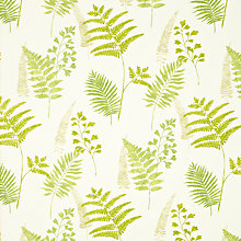 Buy John Lewis Maui Curtain, Green Online at johnlewis.com