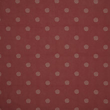 Buy John Lewis Zen Circles Curtain, Red Online at johnlewis.com