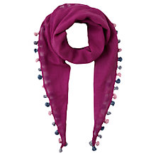 Buy Jigsaw Junior Mini Tassel Scarf Online at johnlewis.com