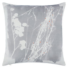 Buy John Lewis Croft Collection Grasses Cushion, Storm Online at johnlewis.com