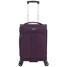 Buy Antler Aire 4-Wheel 56cm Small Cabin Suitcase, Aubergine Online at johnlewis.com