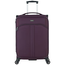 Buy Antler Aire 4-Wheel 68cm Medium Cabin Suitcase, Aubergine Online at johnlewis.com
