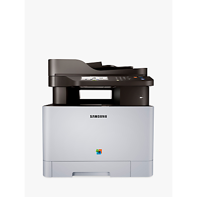 Image of Samsung Xpress SL-C1860FW Wireless All-in-One Multifunction Colour Laser Printer & Fax Machine with NFC