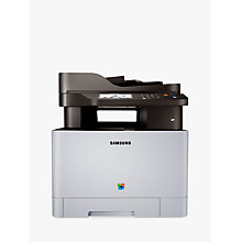 Buy Samsung Xpress SL-C1860FW Wireless All-in-One Multifunction Colour Laser Printer & Fax Machine  FREE Toner Cartridge Online at johnlewis.com