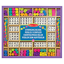 Buy Melissa and Doug Wooden Stringing Beads Online at johnlewis.com