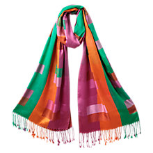 Buy East Silk Rainbow Scarf, Multi Online at johnlewis.com