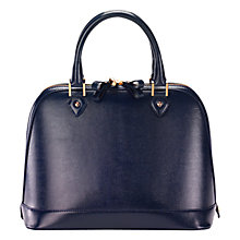 Buy Aspinal of London Hepburn Structured Leather Bag Online at johnlewis.com