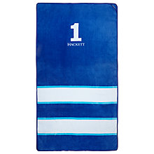 Buy Hackett London No.1 Beach Towel, Navy Online at johnlewis.com