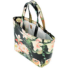 Buy Ted Baker Mintin Opulent Bloom Shopper Bag, Black Online at johnlewis.com