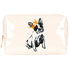 Buy Ted Baker Orlar Large Printed Wash Bag, Nude Pink Online at johnlewis.com