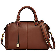 Buy Jaeger Anderson Leather Handheld Bowling Bag Online at johnlewis.com