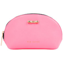 Buy Ted Baker Dassey Leather Wash Bag Online at johnlewis.com