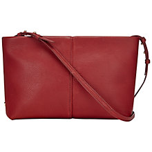Buy Jaeger Warwick Leather Shoulder Clutch Bag Online at johnlewis.com