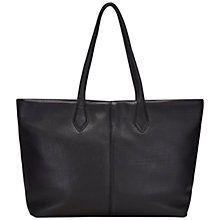 Buy Jaeger Warwick Leather Zip Tote Bag Online at johnlewis.com