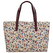 Buy John Lewis Printed Shopper Bag, Mutli Online at johnlewis.com