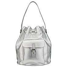 Buy Collection WEEKEND by John Lewis Kyra Bucket Leather Backpack Online at johnlewis.com