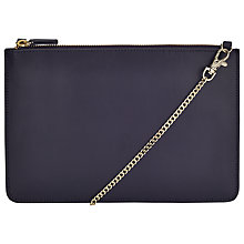 Buy COLLECTION by John Lewis Across Body Bag, Navy Online at johnlewis.com