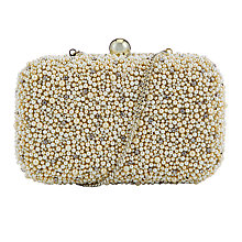 Buy COLLECTION by John Lewis Pearl Box Clutch, Pearl Online at johnlewis.com