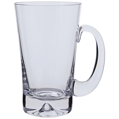 Dartington Crystal Dimple Beer Tankard, 57cl