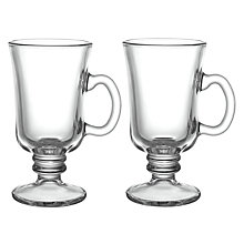 Buy John Lewis Cafe Irish Coffee Cups, Set of 2 Online at johnlewis.com