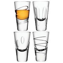 Buy LSA International Charleston Shot Glasses, Set of 4 Online at johnlewis.com