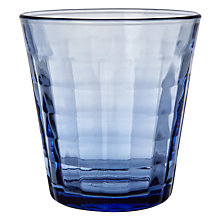 Buy Duralex Prisme Tumbler, Marine Blue, 27.5cl Online at johnlewis.com