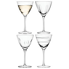 Buy LSA International Charleston Wine Goblets, Set of 4 Online at johnlewis.com