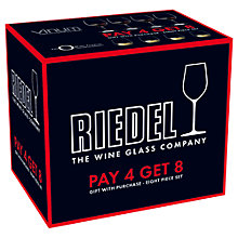Buy Riedel Wine Glasses, Set of 8 Online at johnlewis.com