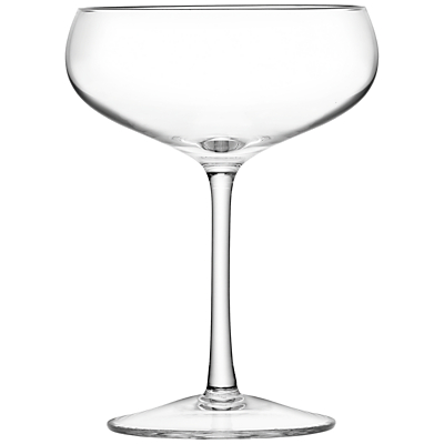 LSA International Bar Collection Champagne Saucers, Set of 4