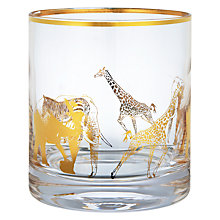 Buy John Lewis Animal Tumbler, Gold Online at johnlewis.com
