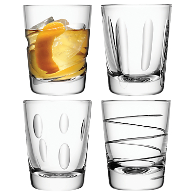 LSA International Charleston Tumblers, Set of 4