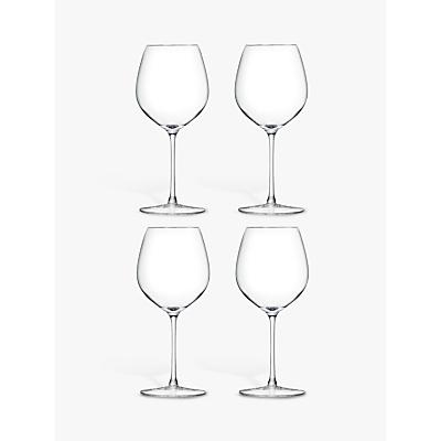 LSA International Bar Collection Red Wine Glasses, Set of 4
