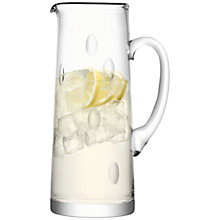 Buy LSA International Charleston Oval-Cut Jug Online at johnlewis.com