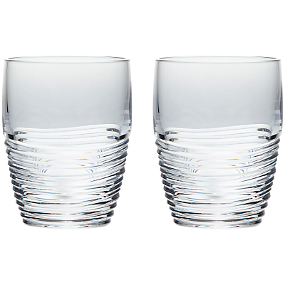 Jasper Conran for Waterford Strata Tumblers, Set of 2